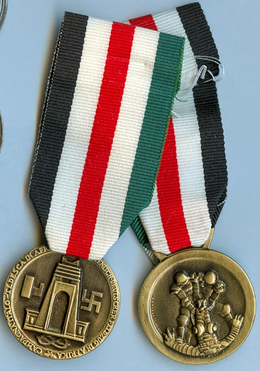 German Militaria: Ribbon Medals