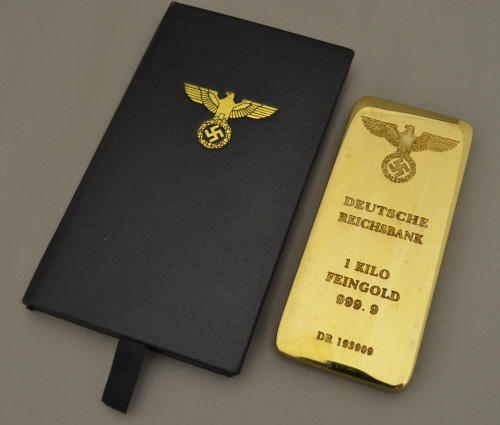 Reichsbank Gold Bar Amp Case Out Of Stock Kelleys Military