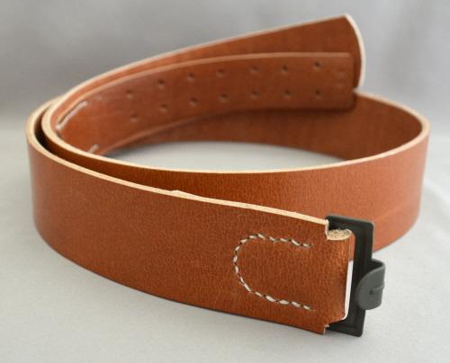 em service belt brown leather kelleys