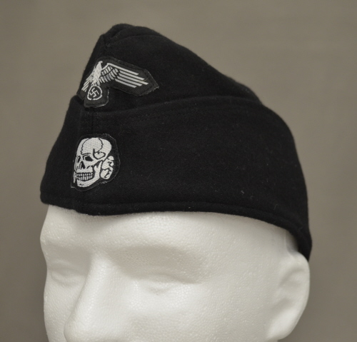 Ss Panzer Enlisted M40 Overseas Cap Kelleys Military