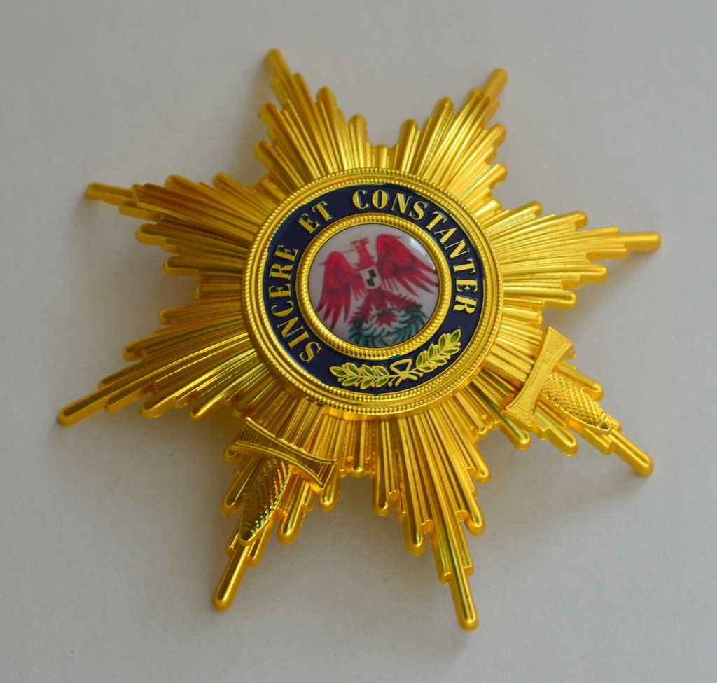 Grand Cross of the Order of the Red Eagle with Swords Breast Star