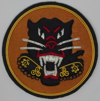 Tank Destroyer patch on Khaki